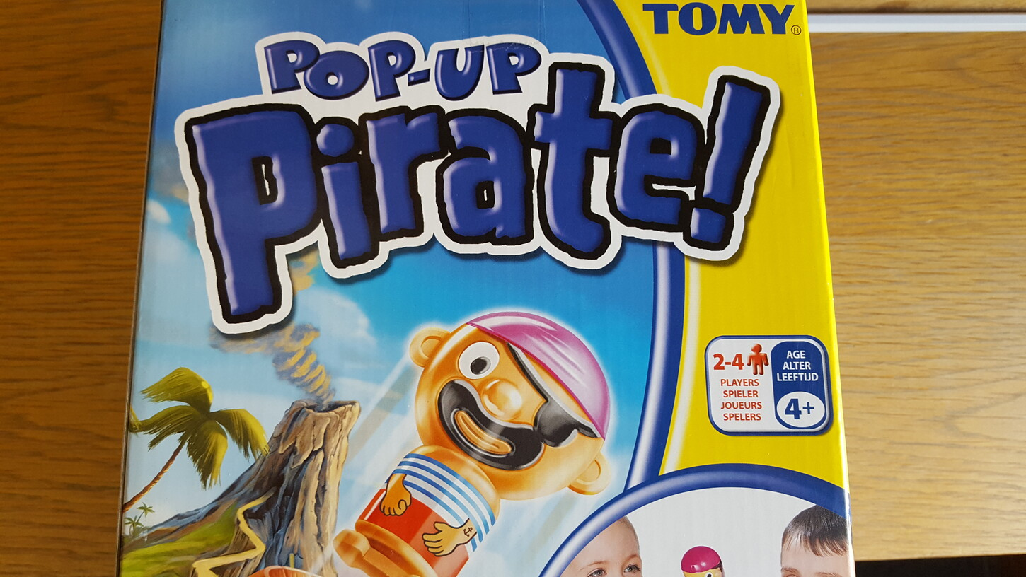 Pop up Pirate (Freitag, 07. April 2017 - Physisch)