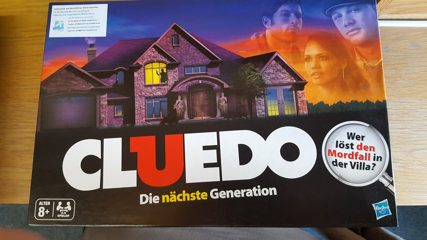 Cluedo (Freitag, 07. April 2017 - Physisch)